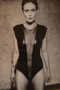 """Ger Breslin is one of a number of designer-makers selected to exhibit work in the """"Adornment"""" photography exhibition. Photography Exhibition, The Selection, Bodysuit, Number, Jewellery, Tops, Design, Women, Fashion"""