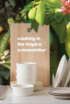 Cooking in the tropics newsletter. Sign-up for this monthly look at cooking with tropical fruits and veggies http://www.brookstropicals.com/constantcontact/signup.shtml