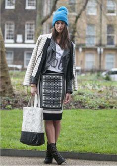 Um Blog Fashion: LONDON FASHION WEEK FALL 2013 | STREET STYLE