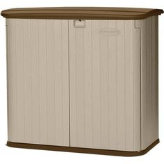 Suncast 32 cu ft Horizontal Outdoor Garden Storage Shed, Light Taupe Storage Sheds For Sale, Storage Shed Kits, Garden Storage Shed, Outdoor Storage Sheds, Outdoor Sheds, Rv Storage, Storage Systems, Storage Cabinets, Storage Boxes