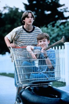 Joseph Mazzello and Brad Renfro