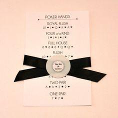 Casino Night DIYs {+ Printables} - Dana Renee Style