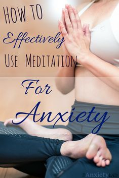 Meditation for anxiety is the alpha and omega of controlling your anxious mind. Learn how to stop racing thoughts, mind wandering, and unnecessary worrying by using meditation.