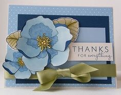 Thanks for Everything Card by @kandrdesigns