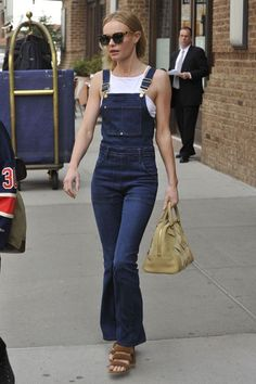 flared overalls Jersey Bicolor, Bowser, Style Snaps, Overalls, Dungarees, Denim  Jumpsuit 9f42f3cad0
