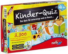Noris Spiele 606013595 - Kinder Quiz 4+ , Kinderspiel: Amazon.de: Spielzeug
