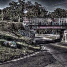 Pensacola's 'Grafitti' bridge over 17th street!