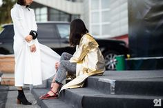 Le 21ème / Tatuna Nikolaishvili + Nino Eliava   Almaty  // #Fashion, #FashionBlog, #FashionBlogger, #Ootd, #OutfitOfTheDay, #StreetStyle, #Style