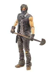 McFarlane Toys The Walking Dead TV Series 7.5 Exclusive Grave Digger Daryl Dixon Action Figure @ niftywarehouse.com