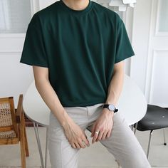 Korean Fashion Men, Korean Street Fashion, Mens Fashion, Stylish Mens Outfits, Casual Outfits, Fashion Outfits, Mode Streetwear, Streetwear Fashion, Look Man