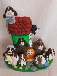 Puppy Birthday Cakes, Pet 1, Bassett Hound, Old Mother, Healthy Pets, Hound Dog, Doggies, Cake Decorating, Random Stuff