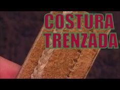 """Costura trenzada (Cresta de gallo doble) """"El Rincón del Soguero"""""""
