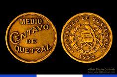 Monedas antiguas de Guatemala