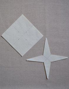 Felt estrella colgante + la punta del árbol | Purl Soho - Crear