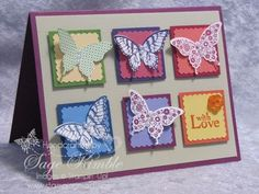 Papillon Potpourri from Stampin Up!