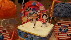 One piece birthday theme One piece birthday party  Ace and luffy