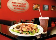 Muscle Maker Grill = low carb + high protein + amazing taste I have yet to try this recipe, but due to my love of Muscle Maker Grill, for those who want to recreate the recipe, here is one I found …