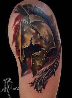 Brandon Heffron - Spartan Helmet