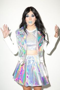 48884d6a6ea 17 Top Holographic outfits images