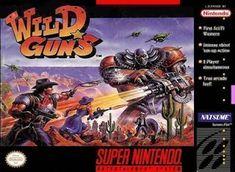 Emularoms: Wild Guns ( E ) [ SNES ]