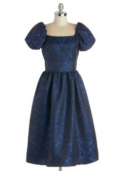 Brocade Promenade Dress, #ModCloth