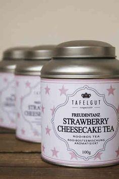 Tee *FREUDENTANZ [STRAWBERRY CHEESECAKE TEA]* Tafelgut - FREUDENTANZ