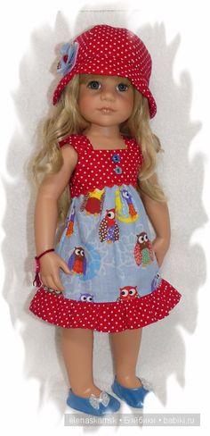 Добрый день! Спасибо, что зашли ко мне в гости! Предлагаю Вашему вниманию одежду для Ханны и подобным куклам. Стоимость 1 / 1 000р