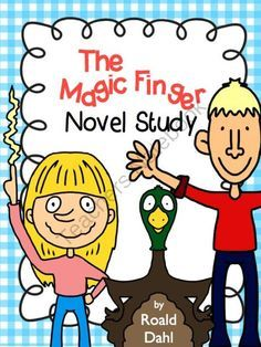 The Magic Finger Novel Study Roald Dahl from FreetoTeach on TeachersNotebook.com -  (35 pages)  - The Magic Finger Novel Study Roald Dahl 35 pages! (with and Answer Key)