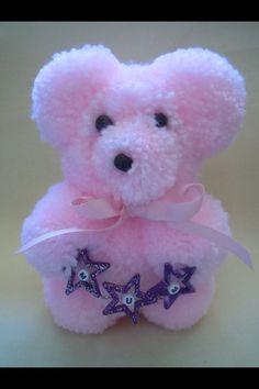 Mum pom pom bear