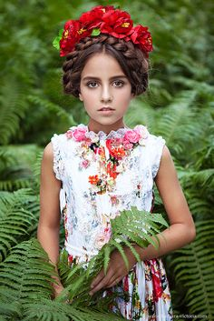 Angelina Kosarevskaya (born January 15, 2003) Russian child model. Barbara & Victoria Photography.