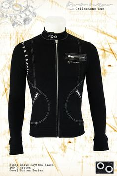 Biker Basic CHRONOWEAR ROLEX DAYTONA 16520 / 116520 - Black - infos: info@chronowear.it