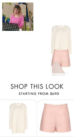 """""""Violetta/2"""" by julia-clv ❤ liked on Polyvore featuring Valentino, DKNY, women's clothing, women, female, woman, misses and juniors"""