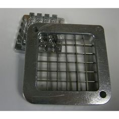 Stainless steel blades Cuts potatoes into 1/2 fries Fits french fry cutters, #55375 / #1154915 / #1158875.