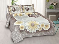Mayur Vatika Yellow King Size Bedsheet Bed Sheet Sizes, King Size Bed Sheets, Double Bed Sheets, Double Beds, Cover Size, Comforters, Pillow Covers, Colours, Blanket