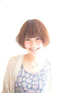 BIG SMILE BOB ビッケのヘアスタイル