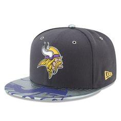 Minnesota Vikings New Era NFL Spotlight 59FIFTY Fitted Hat - Graphite 5c38d9c0c99