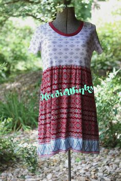 Aztec Tunic Dress