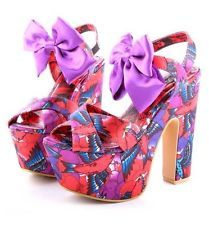 Ironfist Shoes Platform Heels Size 9 Womens