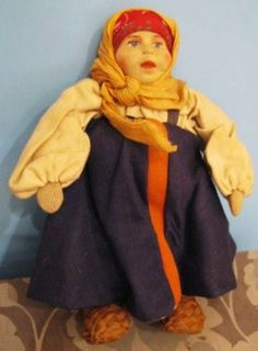 6-NM-1930s-Russia-Russian-Velikorosska-GirlSoviet-Union-Stockinette-Cloth-USSR