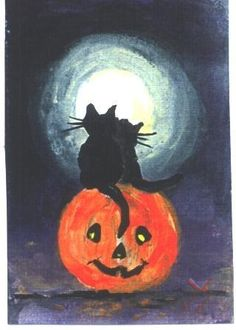 Hey, I found this really awesome Etsy listing at http://www.etsy.com/listing/59298179/love-cats-on-pumpkin-halloween-black-cat