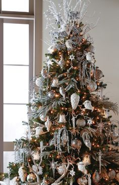 first snow artificial christmas tree