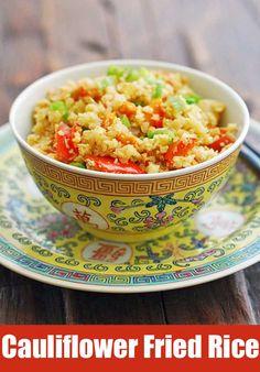 Cauliflower fried ri