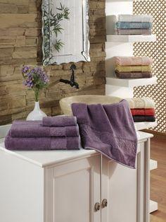 Полотенце Issimo Ravenna, 50x90, Фиолетовый. Покупайте в интернет магазине Almadom.ru