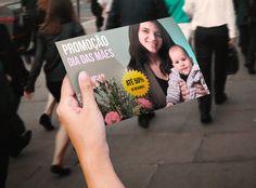 Flyer de Dia das Mães