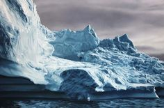 Greenland #63 Zaria Forman finger paintings. Soft pastels