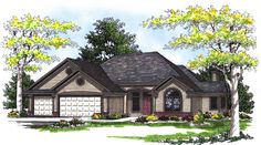 <ul><li>Designed with your family in mind, this attractive house plan has all the modern amenities you're looking for. The…