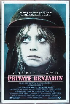 MovieArt Original Film Posters - PRIVATE BENJAMIN (1980) 1470, $25.00 (http://www.movieart.com/private-benjamin-1980-1470/)