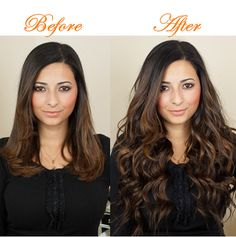 Hair extensions change your hairstyle in minutes! Choose your favourite hair extensions and transform you look now!