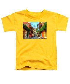 Toddler T-Shirt - Heroic City, Cartagena De Indias Colombia