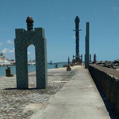 Parque das Esculturas Francisco Brennand, no Marco Zero, Recife #pernambuco #brasil #marcozero #parquedasesculturasfranciscobrennand #franciscobrennand #parquedasesculturas #rodinhasnospes